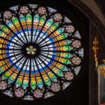 The Rosette, Strasbourg Cathedral, France