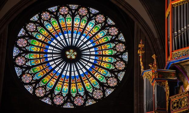strasbourg cathedral rosette 960