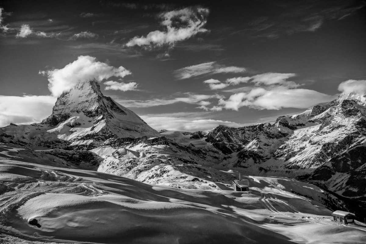 Matterhorn 5 bw