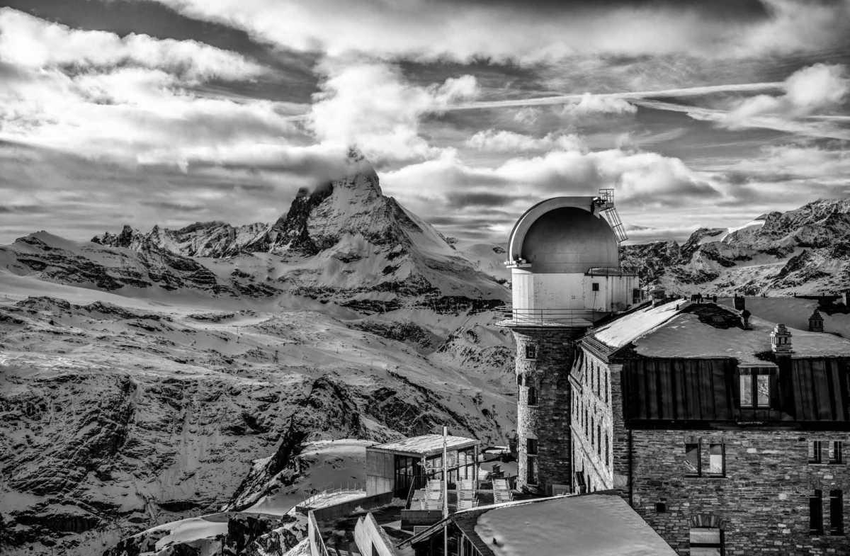 Matterhorn 8 bw