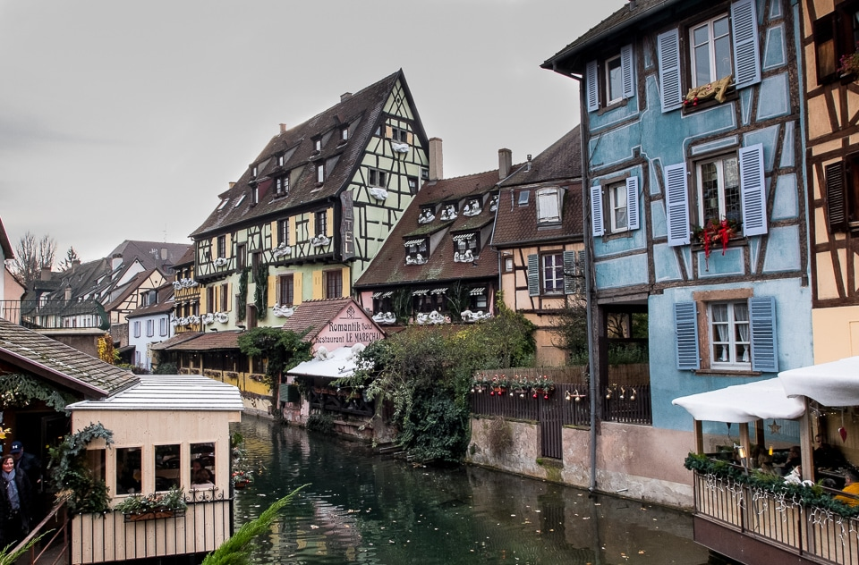 colorful architecture colmar france travel past 50