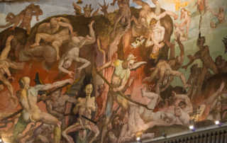 demons tormenting damned duomo florence