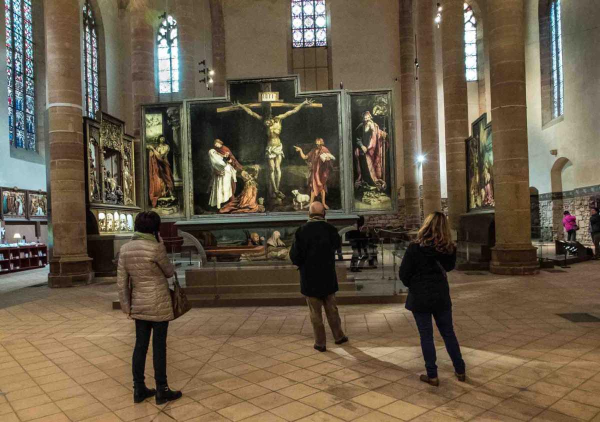 isenheim altarpiece colmar