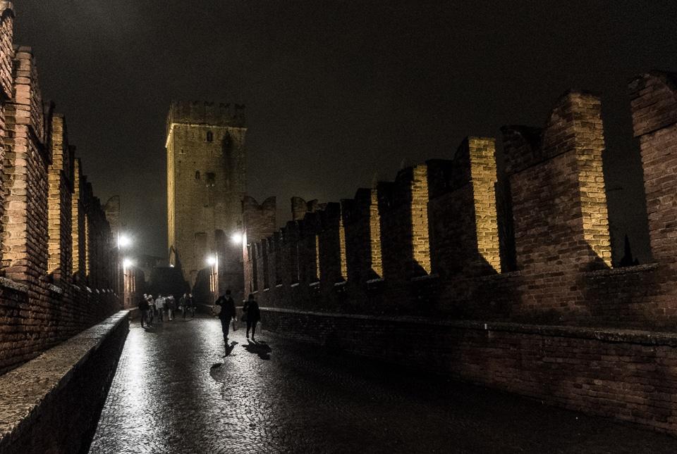 old castle bridge verona italy