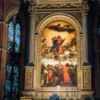 titian assumption santa maria gloriosa dei frari