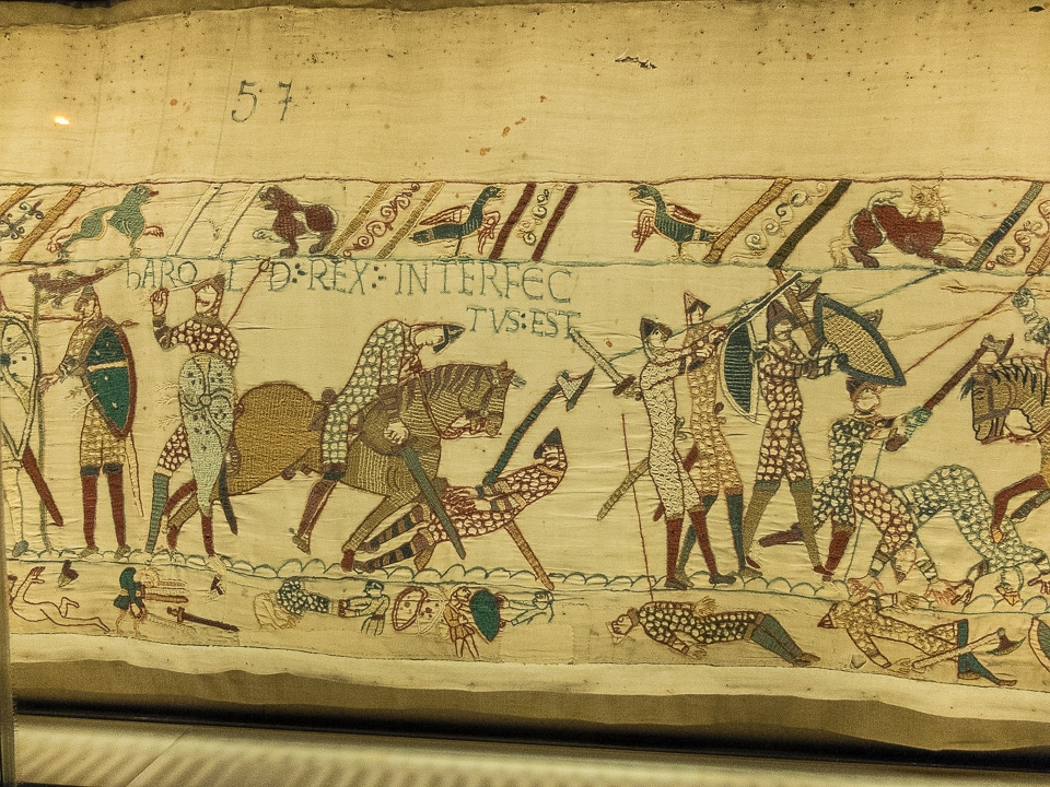 the bayeux tapestry and the ìgesta guillelmiî by william of poitiers essay The bayeux tapestry is about 20 inches high and 230 feet long the exact length of the original tapestry is unknown as the final panel is incomplete there is a saying that history is always written by the victors and the bayeux tapestry depicts events from a totally norman perspective.