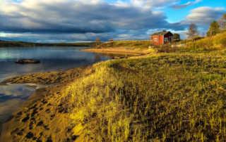 inari lake finland
