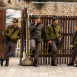 Israeli Soldiers at the Western Wall, Jerusalem