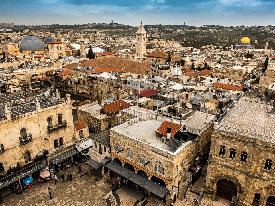 Rooftop View, Old City, Jerusalem - Travel Past 50