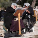 Two Men Discussing the Quran, Jerusalem