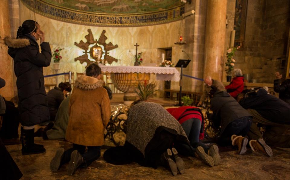 pllgrims church of nations gethsemane