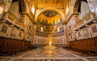 pope's cathedra St John Lateran