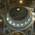 Above the Altar, St. Peter's Basilica, Rome