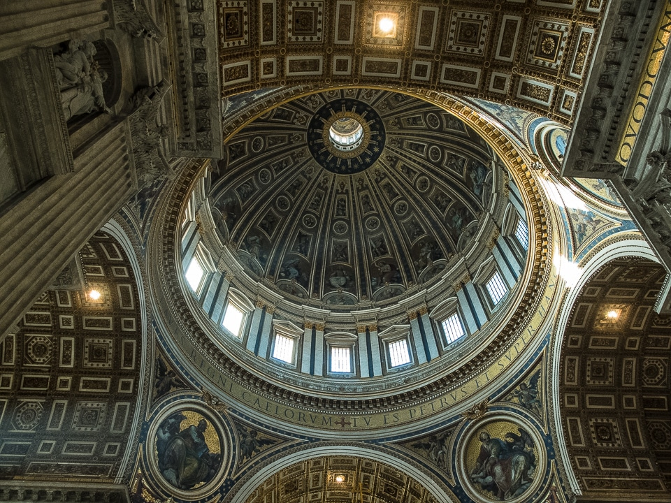 st peter dome vatican rome