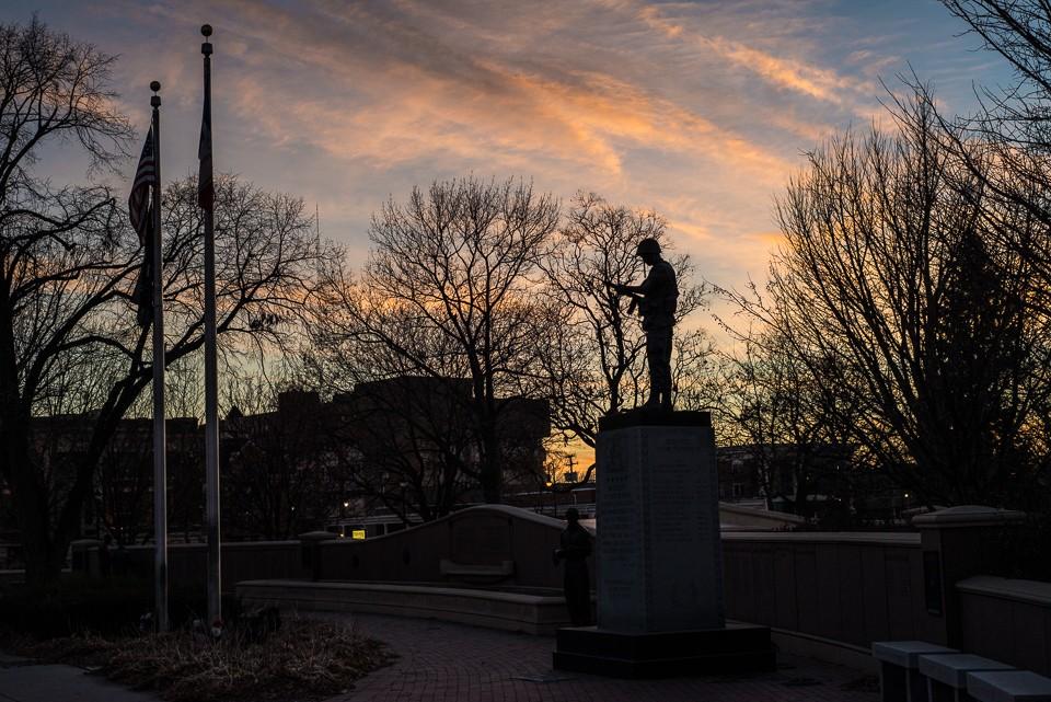 war memorial council bluffs Iowa