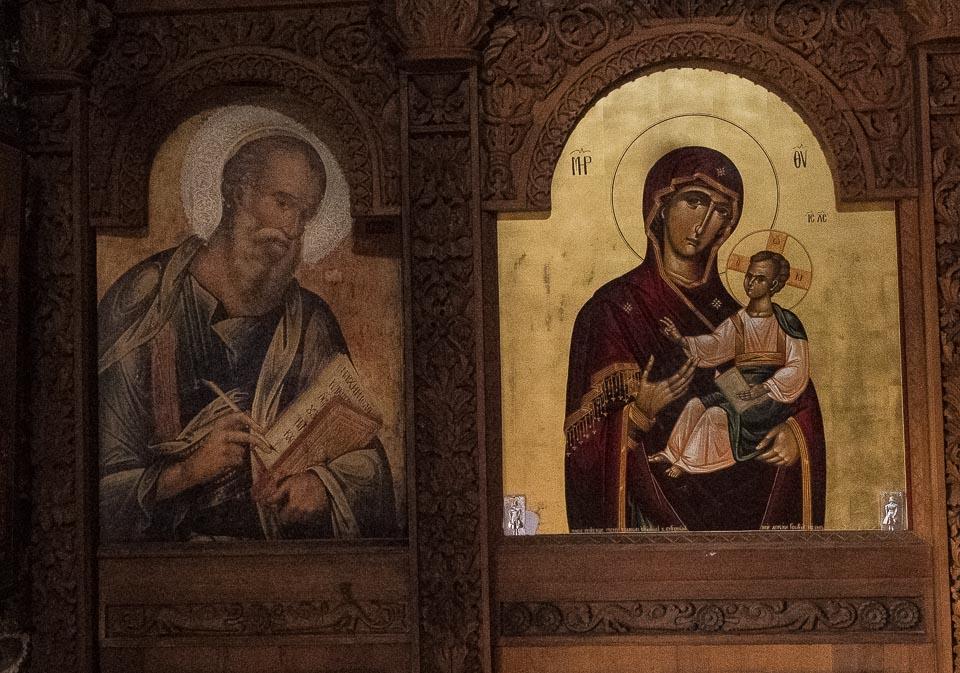 Panagia tou Sinti Monastery icons cyprus