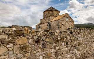 Panagia tou Sinti Monastery wall cyprus