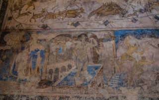 Quseir Amra fresco 1 jordan