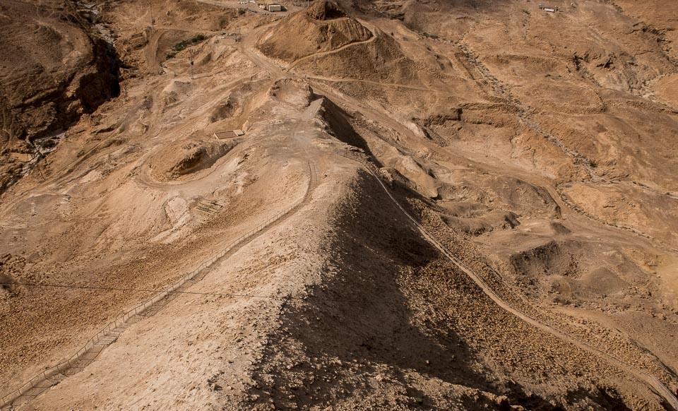 Titus ramp Masada israel
