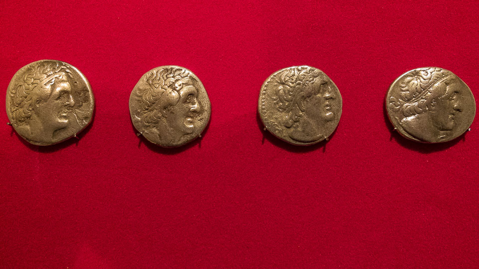jordan museum alexander coins
