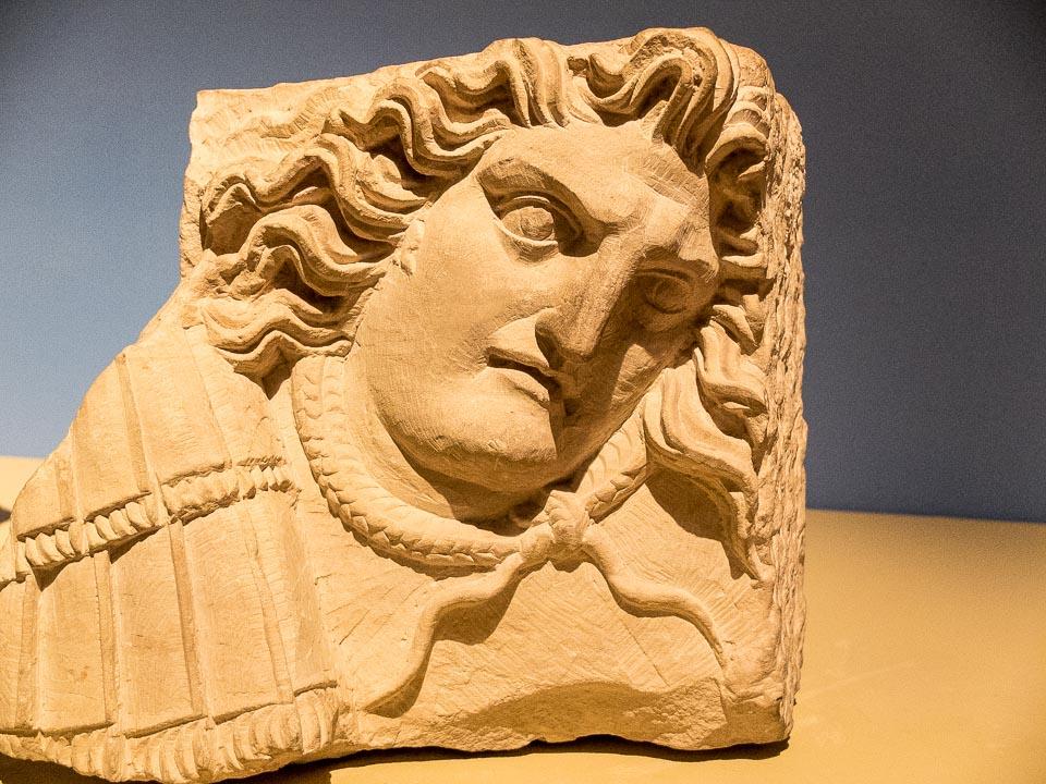 Medusa head Jordan Museum