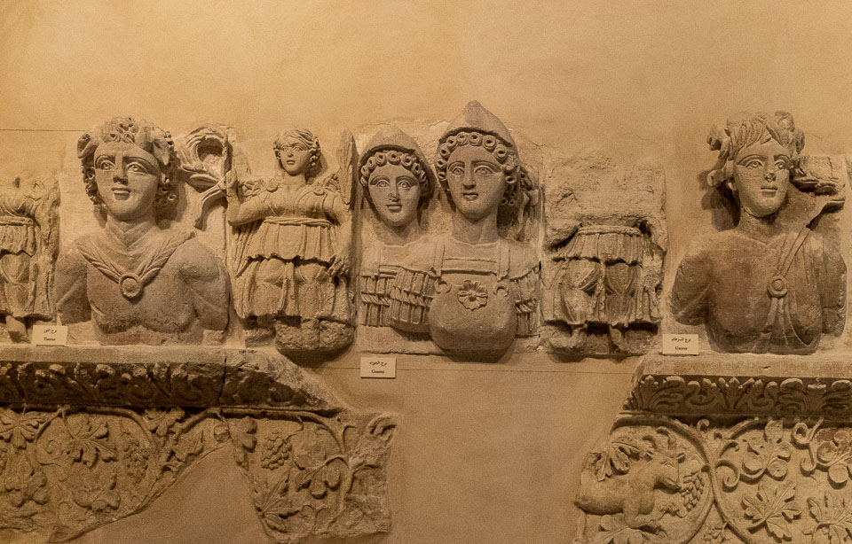 jordan museum zodiac sculptures petra