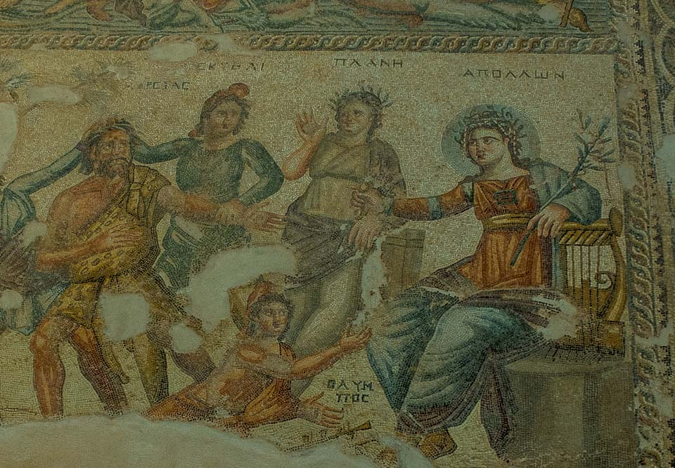 mosaic house of aion paphos cyprus