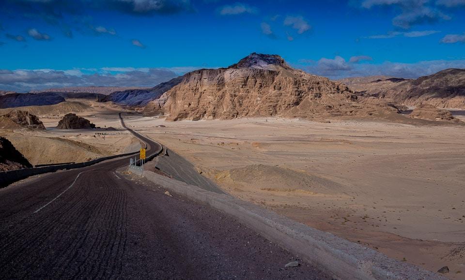 sinai road egypt