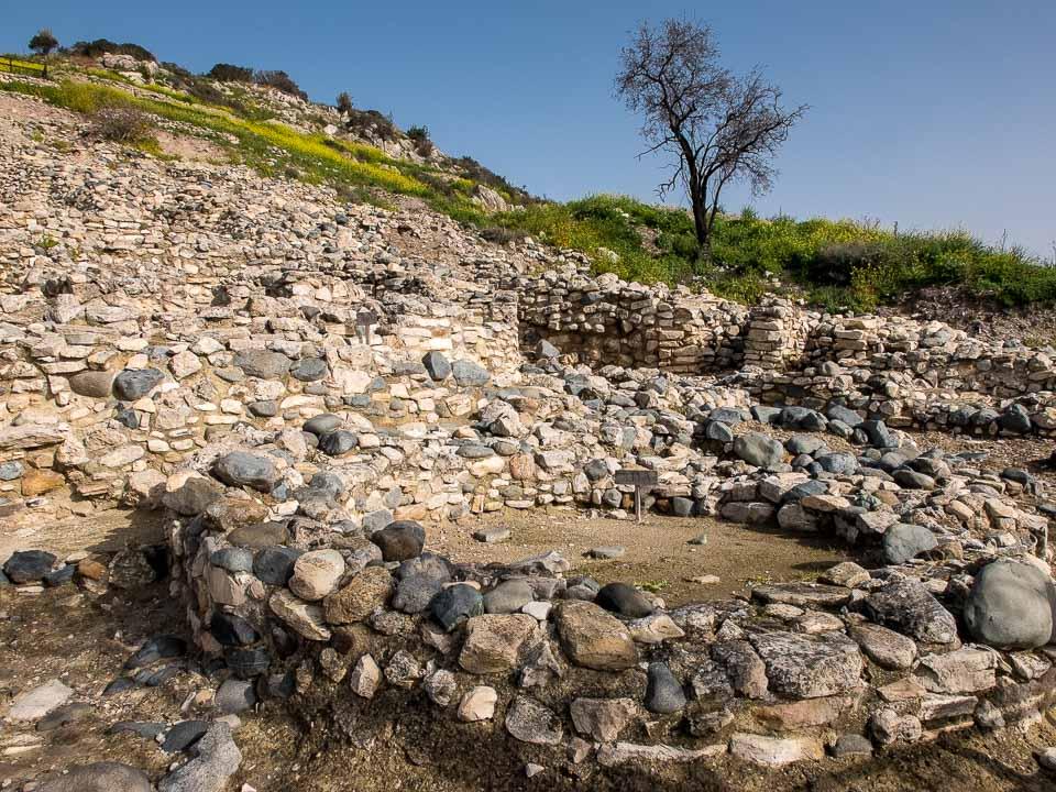 stone house Choirokoitia cyprus