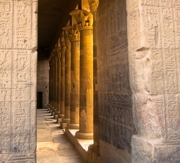 Nile River Cruise Philae Temple Aswan Egypt-1