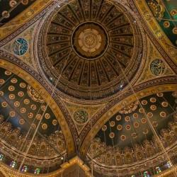 ceiling 2 Muhammad Ali mosque Cairo