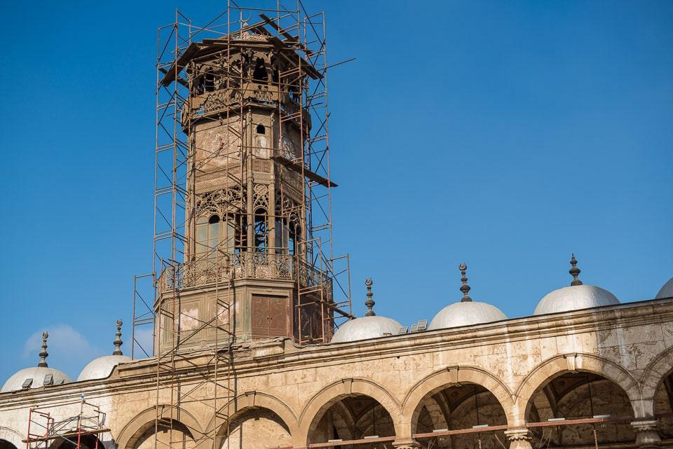 clock tower Muhammad Ali mosque Cairo