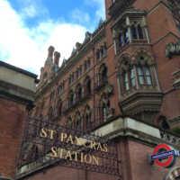 st pancras station london
