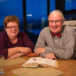 Paula Gilvarry and Damien Brennan