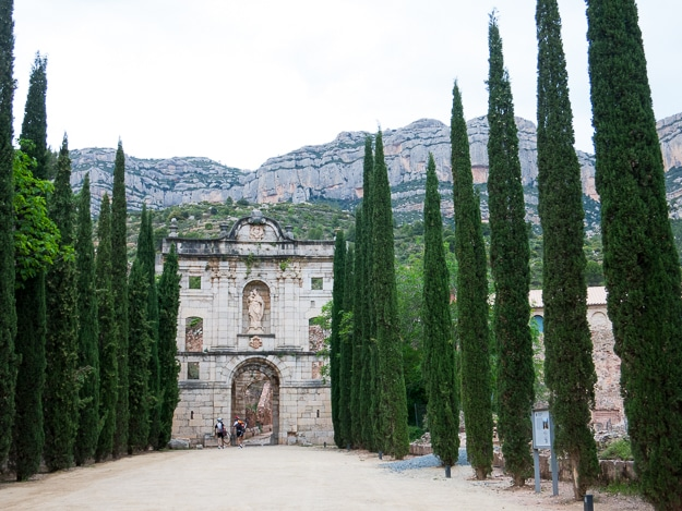 Monastery of Escala Dei, home to Carthusian monks and winemakers.