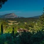 Cézanne's Mountain, Aix en Provence, France