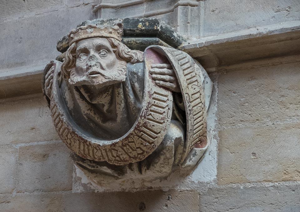 king david cluny france monastery