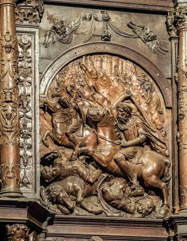 santiago matamoros caceres cathedral