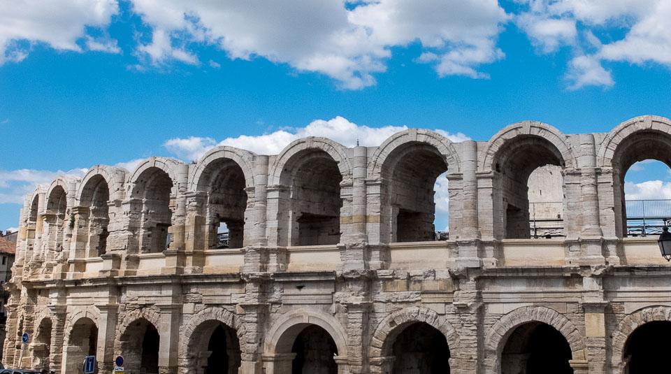 roman amphitheater arles