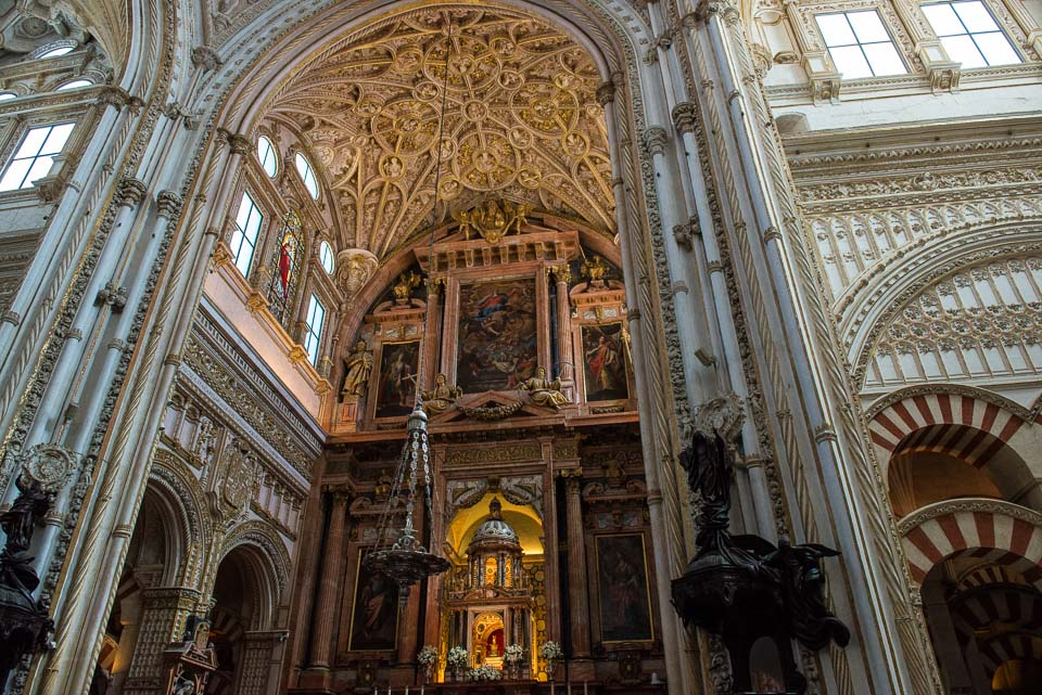 christian cathedral mosque cordoba unesco world heritage spain