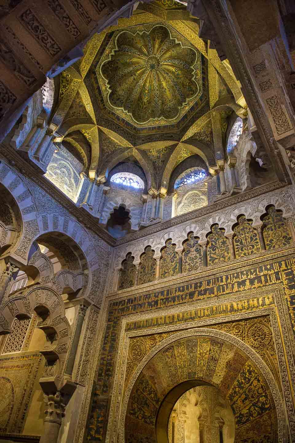 mosque ceiling cordoba