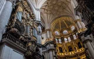 organ granada cathedral spain