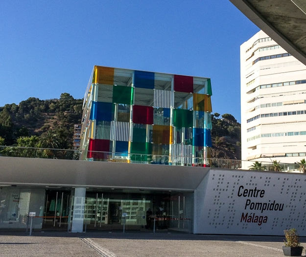 Malaga Pompidou Center places fine art in the midst of the lively waterfront district
