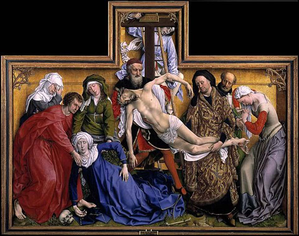 van der weyden descent prado museum madrid