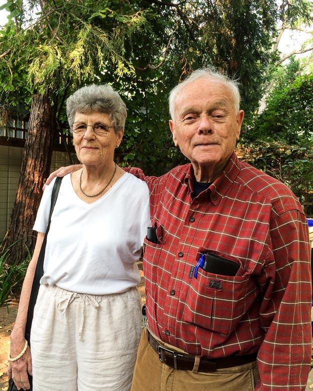 Andrea and Bill Foley attending the Oregon Shakespeare Festival