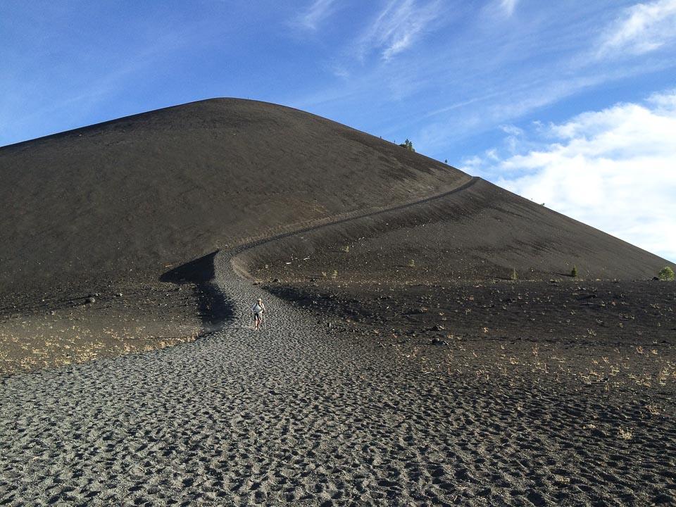 Cinder Cone path Lassen Volcanic NP