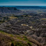 The Badlands National Park, South Dakota, USA