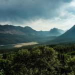 Sultry View of Glacier National Park, Montana