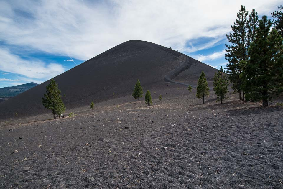 lassen national park cinder cone