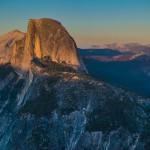 Sunset, Half Dome, Yosemite National Park